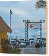 Bimini Guy Harvey Outpost Wood Print