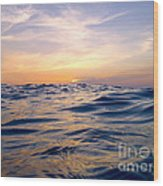 Bimini Sunset Wood Print