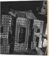 Binion's Horsehoe Wood Print