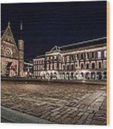 Binnenhof Wood Print