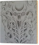 Bio 2 Wood Print