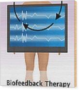 Biofeedback Therapy Wood Print