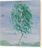 Birch Wood Print