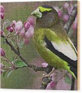 Bird 5 Wood Print