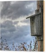 Bird Box Wood Print