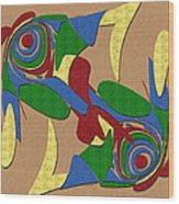 Bird Dance Wood Print