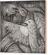 Bird Of Life Wood Print by Praphavit Premtha
