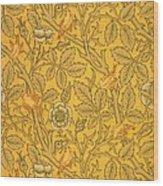 Bird Wallpaper Design Wood Print