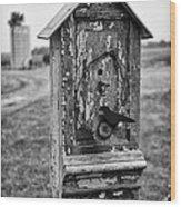 Birdhouse Wood Print