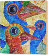 Birds 736 - Marucii Wood Print