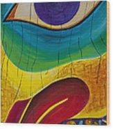 Bird's Eye Wood Print