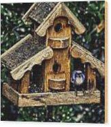 Birds In Oregon Wood Print