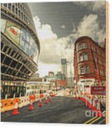 Birmingham New St  Wood Print