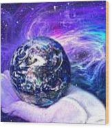 Birth Of A Planet Wood Print