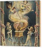 Birth Of The Chorus Girl Wood Print
