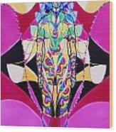 Birth Of The Flying Rainbow Lasagne Wood Print