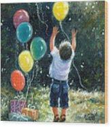 Birthday Boy Wood Print