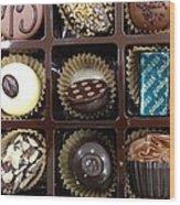 Birthday Chocolates Wood Print