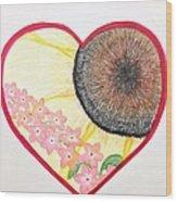 Birthday Heartgarden 20140727 Wood Print