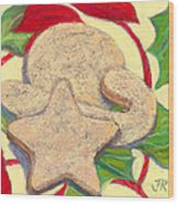 Biscochitos-nm State Cookie Wood Print