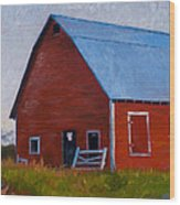 Bishop Barn Wood Print