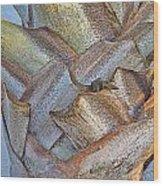Bismark Palm Tree Weave Wood Print