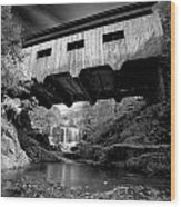 Bissell Bridge Wood Print