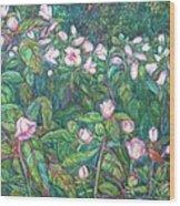 Bisset Park Hibiscus Wood Print