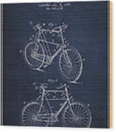 Bisycle Patent Drawing From 1898 Wood Print