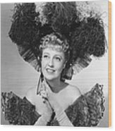 Bitter Sweet, Jeanette Macdonald, 1940 Wood Print