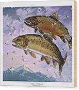 Bitterroot Ephemera Wood Print