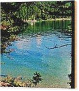 Bitterroot Lake Wood Print