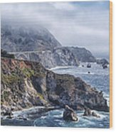 Bixby Bridge - Large Print Wood Print by Anthony Citro