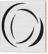 Black And White - 105 Wood Print