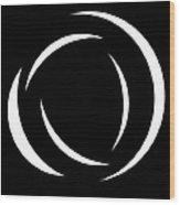 Black And White Art - 104 Wood Print