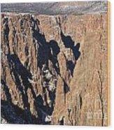 Black Canyon Pinnacles Wood Print