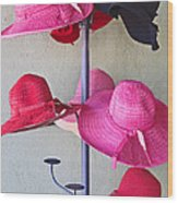 Black Chapeau Of The Family Wood Print