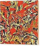 Black Cherry Wood Print