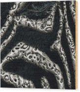 Black Eye Wood Print