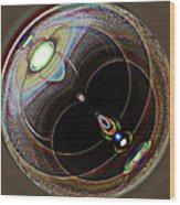 Black Eye Wood Print by Samuel Sheats