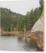 Black Hills Lake Wood Print