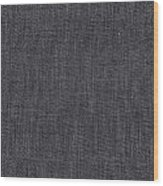 Black Linen Texture Wood Print