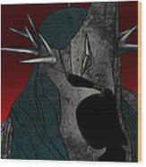 Black Rider Lotr Wood Print