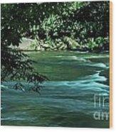 Black River Nj Wood Print