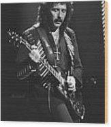 Black Sabbath Wood Print