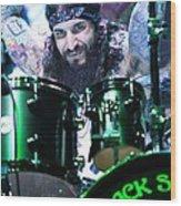 Black Sabbath - Tommy Clufetos Wood Print