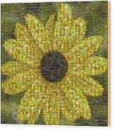 Blackeyed Suzy Mosaic Wood Print