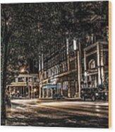 Blackhawk Hotel Wood Print