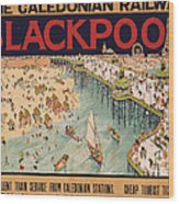 Blackpool Wood Print