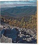 Blackrock Summit Toned Wood Print